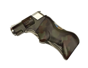 camouflage hunting lighter