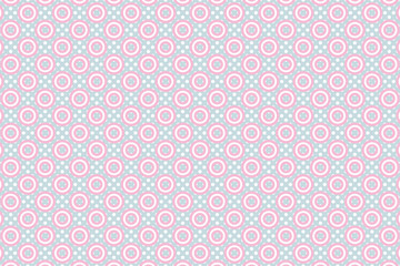 背景素材壁紙(水玉と輪, 水玉, 輪, ドット模様, 斑点, 点々, 粒々, )