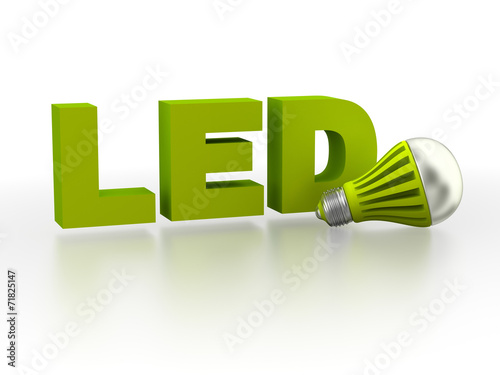 LED (Light Emitting Diode) lamp