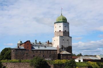Vyborg Castle.