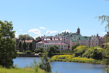Vyborg. View of the city.
