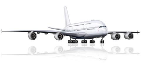 Passagierflugzeug - Großraumflugzeug