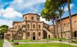 Leinwanddruck Bild - Famous Basilica di San Vitale in Ravenna, Italy