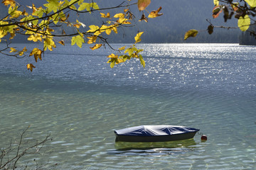 Boot im Plansee