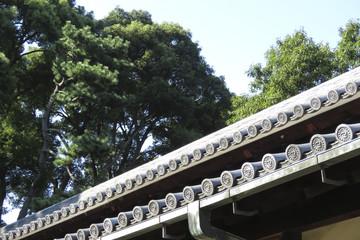 皇居にある番所の屋根瓦