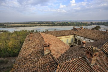 Rivalta Castle roofs