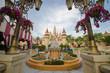 beautiful castle in Universal Studios ,Singapore.