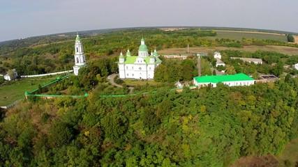 Aerial. Monastery