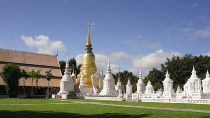 Wat Suan Dok temple in Chiang Mai , Thailand.