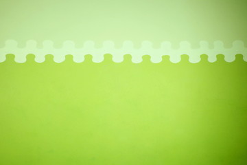 Light and dark green wall background