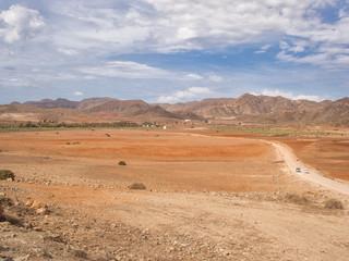 Paisaje de Almería, sur de España