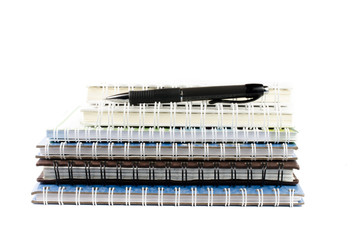 notebook stack
