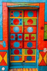 Casa Multicolore, Burano, Venezia, Veneto, Italia