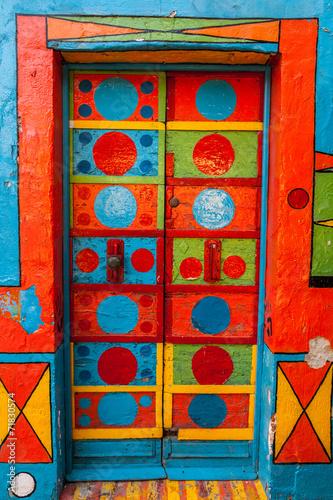Obraz na Szkle Casa Multicolore, Burano, Venezia, Veneto, Italia