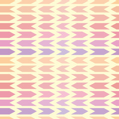Seamless abstract pattern with arrows