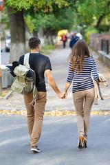 pair on walk