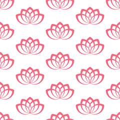 Water Lily. Pattern