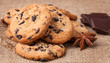 Cookies with chocolate chips - 71831305