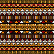 Ethnic decorative background. Seamless pattern for wrapping pape