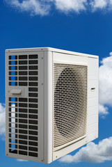Air conditioner in the clouds