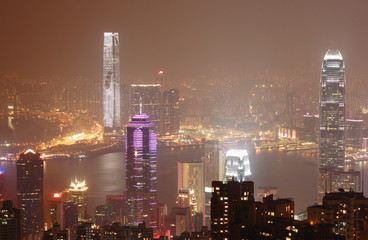 The Peak, Hong Kong island