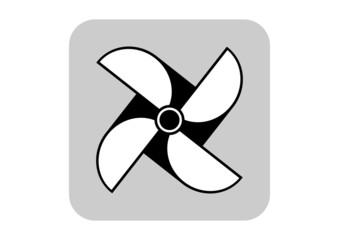 Pinwheel vector icon