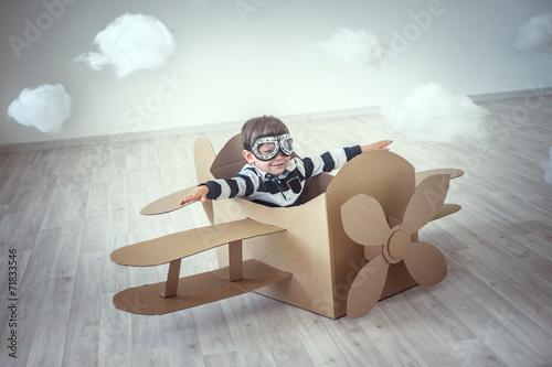 Fototapeta Pilot