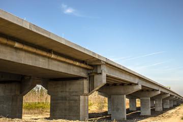 Pupinov most, Belgrade, Serbia. Most Borca-Zemun.