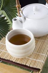 tea in japanese style