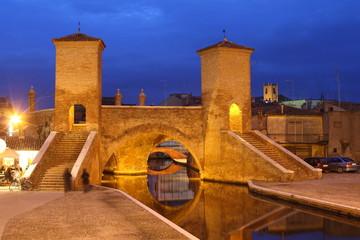 città di comacchio tre ponti delta del po provincia ferrara