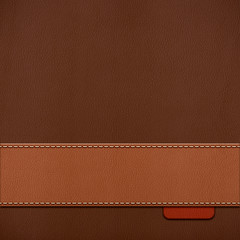 stitched leather background