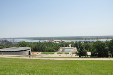 Views of Volgograd.