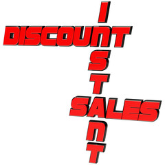 Instant discount on sales