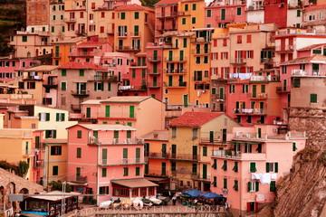 Cinque terre village of Manarola,Italy