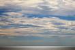 canvas print picture - Leuchtendes Meer in der Dämmerung