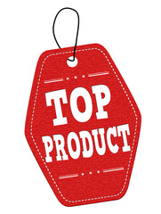 Top product  label or price tag