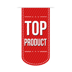 Top product banner design