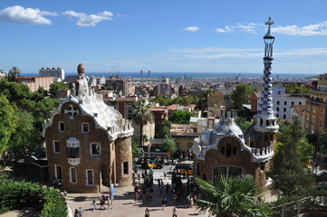 View of Barcelona.