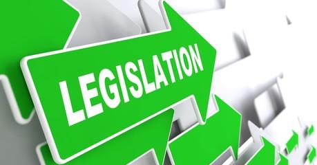 Legislation on Green Direction Arrow Sign.