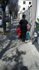 Possibile vittima di borseggiatore