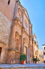 Mother Church of Fasano. Puglia. Italy.