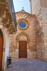 Church of St. Giuseppe. Fasano. Puglia. Italy.