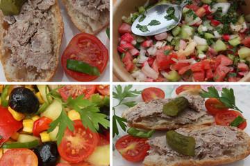 Buffet  Pique nique - Casse croûte  Salade crudités