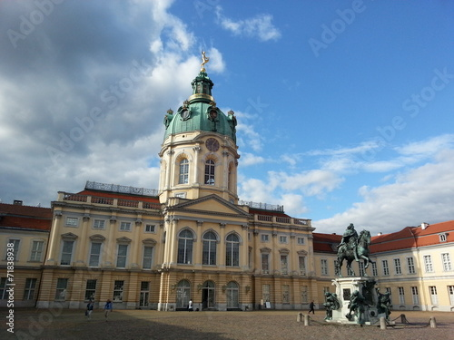 canvas print picture Charlottenburg Palace, Berlin, Germany