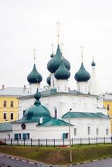 Old architecture of Yaroslavl city, Russia