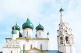 Church of Elijah Prophet in Yaroslavl, Russia. UNESCO Heritage. poster