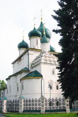 Church of Elijah Prophet in Yaroslavl, Russia. UNESCO Heritage.