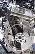 The powerful engine of a modern sport car