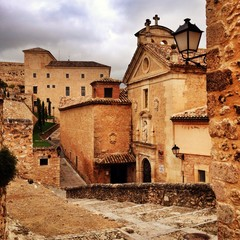 street of Cuenca, Spain