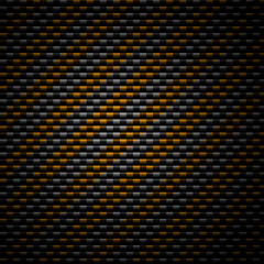 Yellow stripes grunge background with texture